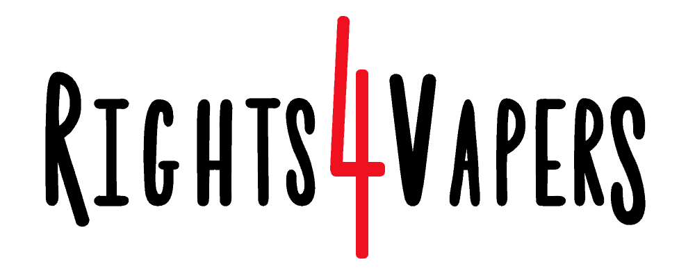 Rights 4 Vapers Logo