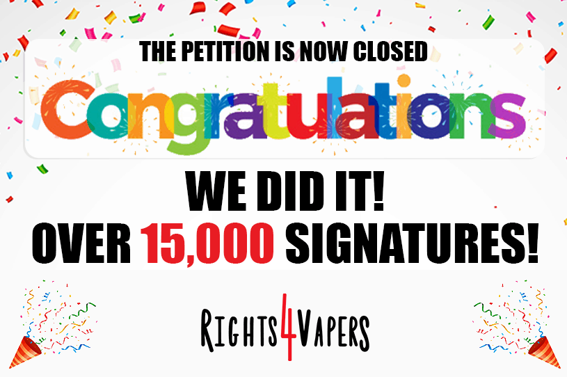 15 000 Canadians Signed The Petition to Save Flavours!